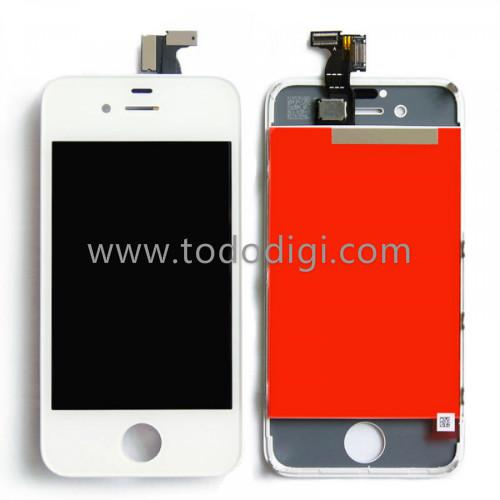 TOUCH+LCD DISPLAY COMPLETO PER APPLE IPHONE 4G COLORE BIANCO AAA+ GRADE