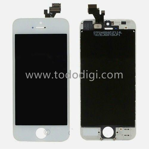 TOUCH + DISPLAY COMPLETO PER IPHONE 5G IPHONE ORIGINALE COLORE BIANCO