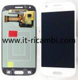 DISPLAY LCD + TOUCHSCREEN DISPLAY COMPLETO SENZA FRAME PER SAMSUNG GALAXY ACE 4 G357 BIANCO