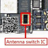 ANTENNA SWITCH IC RF5159 PER APPLE IPHONE 6G 4.7 / IPHONE 6S PLUS 5.5