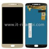 DISPLAY LCD + TOUCHSCREEN DISPLAY COMPLETO SENZA FRAME PER MOTOROLA MOTO E4 PLUS XT1770 XT1771 XT1775 ORO
