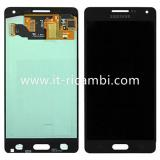 DISPLAY LCD + TOUCHSCREEN DISPLAY COMPLETO SENZA FRAME PER SAMSUNG GALAXY A5 A500F NERO
