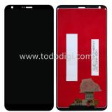 DISPLAY LCD + TOUCHSCREEN DISPLAY COMPLETO SENZA FRAME PER LG G6 H870 NERO