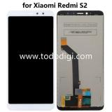 DISPLAY LCD + TOUCHSCREEN DISPLAY COMPLETO SENZA FRAME PER XIAOMI REDMI S2 BIANCO ORIGINALE