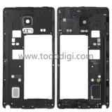 COVER CENTRALE B PER SAMSUNG GALAXY NOTE EDGE N915F NERO