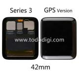 TOUCHSCREEN + DISPLAY LCD DISPLAY COMPLETO (GPS VERSION) PER APPLE WATCH SERIES 3 42mm ORIGINALE
