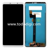 DISPLAY LCD + TOUCHSCREEN DISPLAY COMPLETO SENZA FRAME PER XIAOMI MI MAX 3 BIANCO