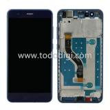 TOUCHSCREEN + DISPLAY LCD DISPLAY COMPLETO + FRAME PER HUAWEI P10 LITE BLU