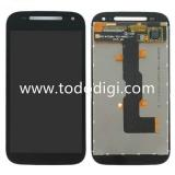 DISPLAY LCD + TOUCHSCREEN DISPLAY COMPLETO SENZA FRAME PER MOTOROLA MOTO E 2nd XT1524 NERO