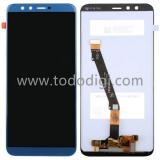 DISPLAY LCD + TOUCHSCREEN DISPLAY COMPLETO SENZA FRAME PER HUAWEI HONOR 9 LITE BLU ORIGINALE