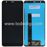TOUCHSCREEN + DISPLAY LCD DISPLAY COMPLETO SENZA FRAME PER ASUS ZENFONE MAX PLUS (M1) ZB570TL X018D NERO