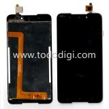 TOUCHSCREEN + DISPLAY LCD DISPLAY COMPLETO SENZA FRAME PER WIKO ROBBY 2 NERO