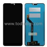TOUCHSCREEN + DISPLAY LCD DISPLAY COMPLETO SENZA FRAME PER ASUS ZENFONE MAX PRO (M2) ZB631KL NERO