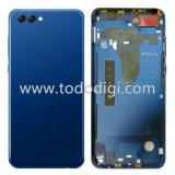 COVER POSTERIORE PER HUAWEI HONOR VIEW 10 / HONOR V10 BLU ORIGINALE