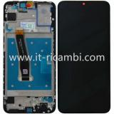 DISPLAY LCD + TOUCHSCREEN DISPLAY COMPLETO + FRAME PER HUAWEI P SMART 2019 POT-LX1 NERO