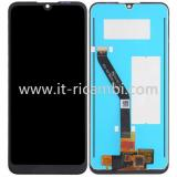 DISPLAY LCD + TOUCHSCREEN DISPLAY COMPLETO SENZA FRAME PER HUAWEI HONOR PLAY 8A / Y6 2019 / Y6 PRO 2019 / Y6 PRIME 2019 / HONOR 8A PRO NERO ORIGINALE