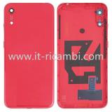 COVER POSTERIORE PER HUAWEI HONOR PLAY 8A JAT-L09 JAT-L29 ROSSO