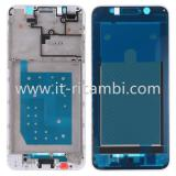 COVER CENTRALE A PER HUAWEI Y5 PRIME 2018 / Y5 2018 DRA-L22 BIANCO