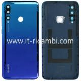 COVER POSTERIORE PER HUAWEI P SMART+ 2019 / HUAWEI P SMART PLUS 2019 BLU