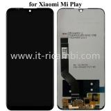 DISPLAY LCD + TOUCHSCREEN DISPLAY COMPLETO SENZA FRAME PER XIAOMI MI PLAY NERO