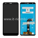 DISPLAY LCD + TOUCHSCREEN DISPLAY COMPLETO SENZA FRAME PER LG K30 2019 NERO ORIGINALE NEW