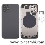 COVER POSTERIORE PER APPLE IPHONE 11 PRO 5.8 NERO ORIGINALE