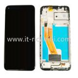 DISPLAY LCD + TOUCHSCREEN DISPLAY COMPLETO + FRAME PER SAMSUNG GALAXY M11 M115F NERO ORIGINALE