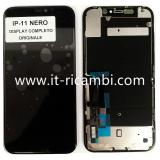 TOUCHSCREEN + DISPLAY LCD DISPLAY COMPLETO PER APPLE IPHONE 11 6.1 ORIGINALE