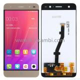 TOUCHSCREEN + DISPLAY LCD DISPLAY COMPLETO SENZA FRAME PER ZTE BLADE V7 LITE ORO