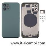 COVER POSTERIORE PER APPLE IPHONE 11 PRO 5.8 VERDE ORIGINALE