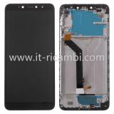 DISPLAY LCD + TOUCHSCREEN DISPLAY COMPLETO + FRAME PER XIAOMI REDMI S2 / Y2 NERO
