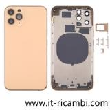 COVER POSTERIORE PER APPLE IPHONE 11 PRO 5.8 ORO ORIGINALE