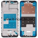 COVER CENTRALE A PER HUAWEI HONOR PLAY 8A JAT-L09 JAT-L29 / HONOR 8A NERO