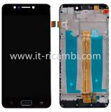 DISPLAY LCD + TOUCHSCREEN DISPLAY COMPLETO + FRAME PER ASUS ZENFONE 4 MAX ZC520KL X00HD NERO