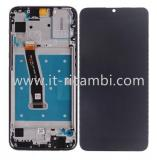 DISPLAY LCD + TOUCHSCREEN DISPLAY COMPLETO + FRAME PER HUAWEI HONOR 10 LITE HRY-LX1 HRY-LX2 NERO