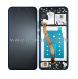 DISPLAY LCD + TOUCHSCREEN DISPLAY COMPLETO + FRAME PER HUAWEI P SMART+ PLUS / NOVA 3I INE-LX1 INE-L21 BLU