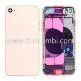 COVER POSTERIORE CON RICAMBI PER APPLE IPHONE 8G 4.7 ORO