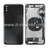 COVER POSTERIORE CON RICAMBI PER APPLE IPHONE XS MAX 6.5 NERO